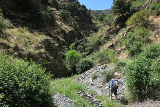 Day 1 - water in the Peña Horadada