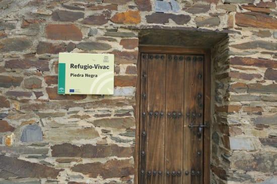 Day 1 - entrance to Refugio Vivac Piedra Negra