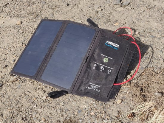 Day 3 - I can recommend these solar chargers. Efficient and light