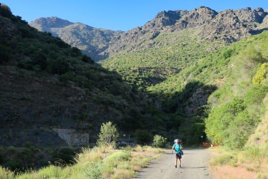 Day 2 - The peaks of La Cumbre and Cerro Almirez behind