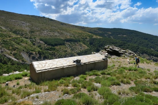 Day 2 - arrival at the Refugio Vivac el Toril