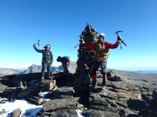 Made it to summit of Los Machos