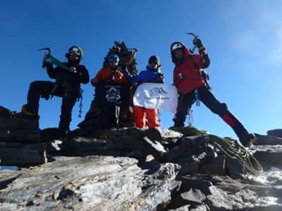 The summit of Los Machos
