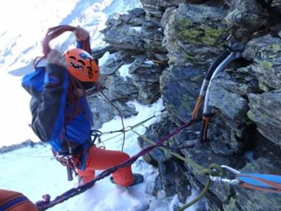 Mountaineering route 6