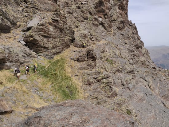 Yes, it's as steep as it looks!