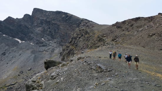 Descending from Los Posiciones to the start of the Veredon Inferior
