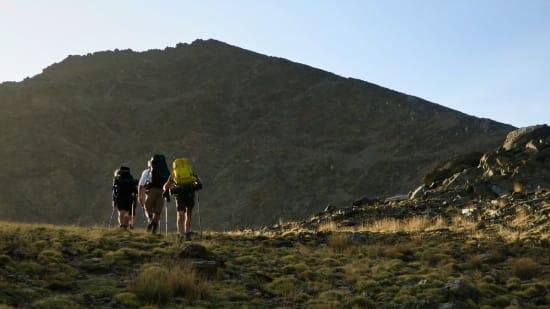 Approaching the col near Juego de Bolos