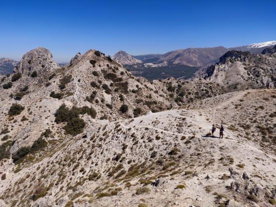 An ascent of the Corazon de la Sandia from Dilar near Granada