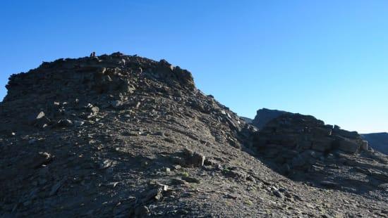 5 minutes walk to the Puntal de Siete Lagunas