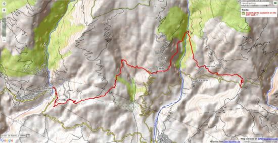 walking from Soportujar to Lanjaron GR7