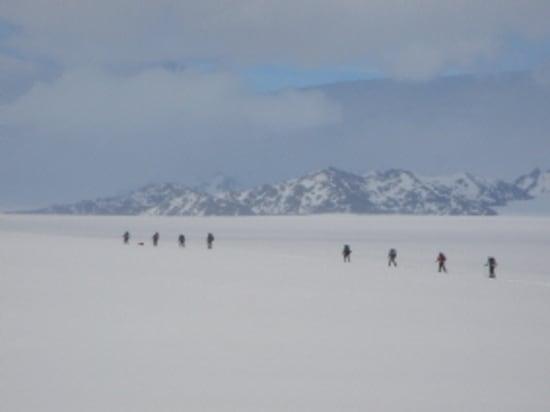 Icecap expedition