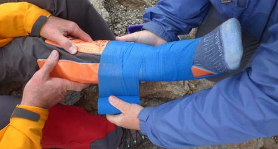 Outdoor First Aid in the Sierra Nevada