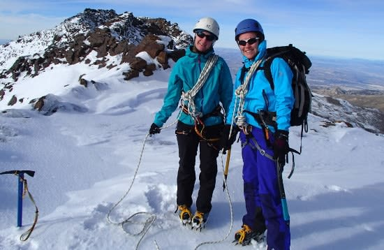 Winter Mountaineering in the Sierra Nevada, Spain