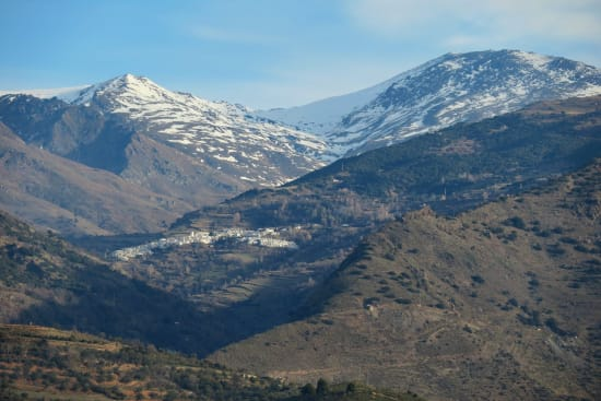 The town of Capileira in the Alpujarras