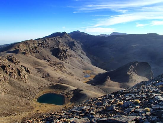 Ultra trails in the Sierra Nevada