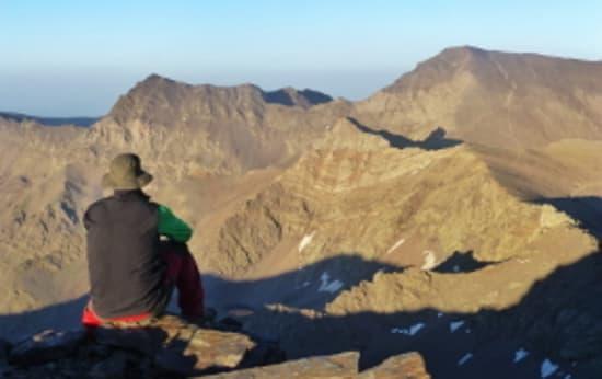 Veleta and Cerro de los Machos