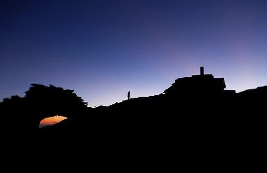 See the sunrise on Mulhacen