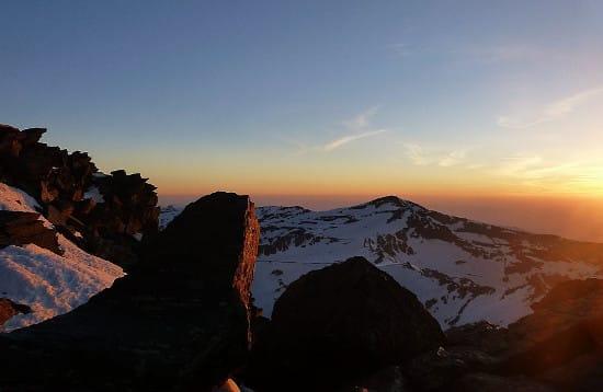 Trekking Mulhacen at Sunrise