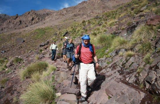Trekking the Altas Mountains
