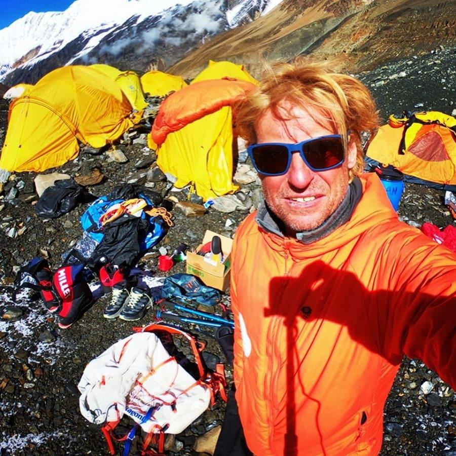 Sean James, mountain guide