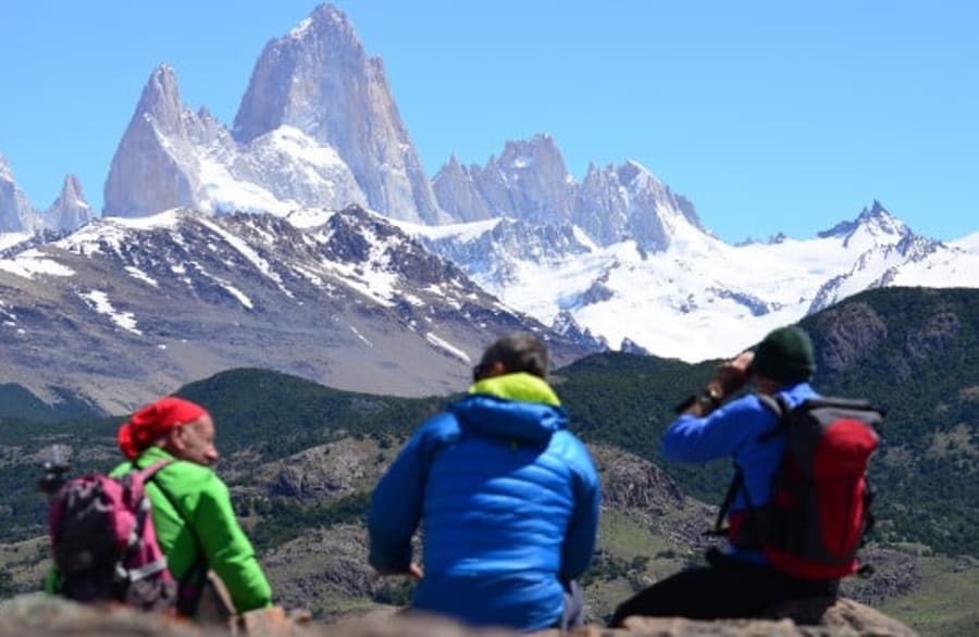 Views of Cerro Torre