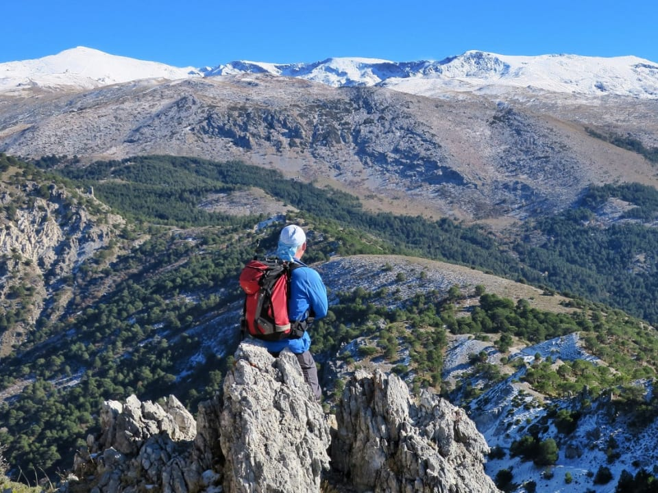 Views from the Cumbres Verdes range