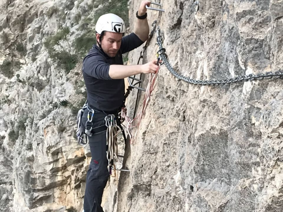 There's a Via Ferrata to Suit Everybody