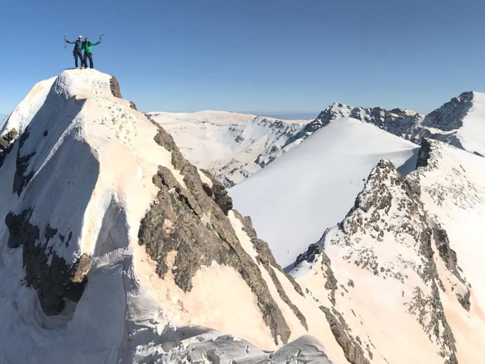 Winter Mountaineering on Cerro de los Machos