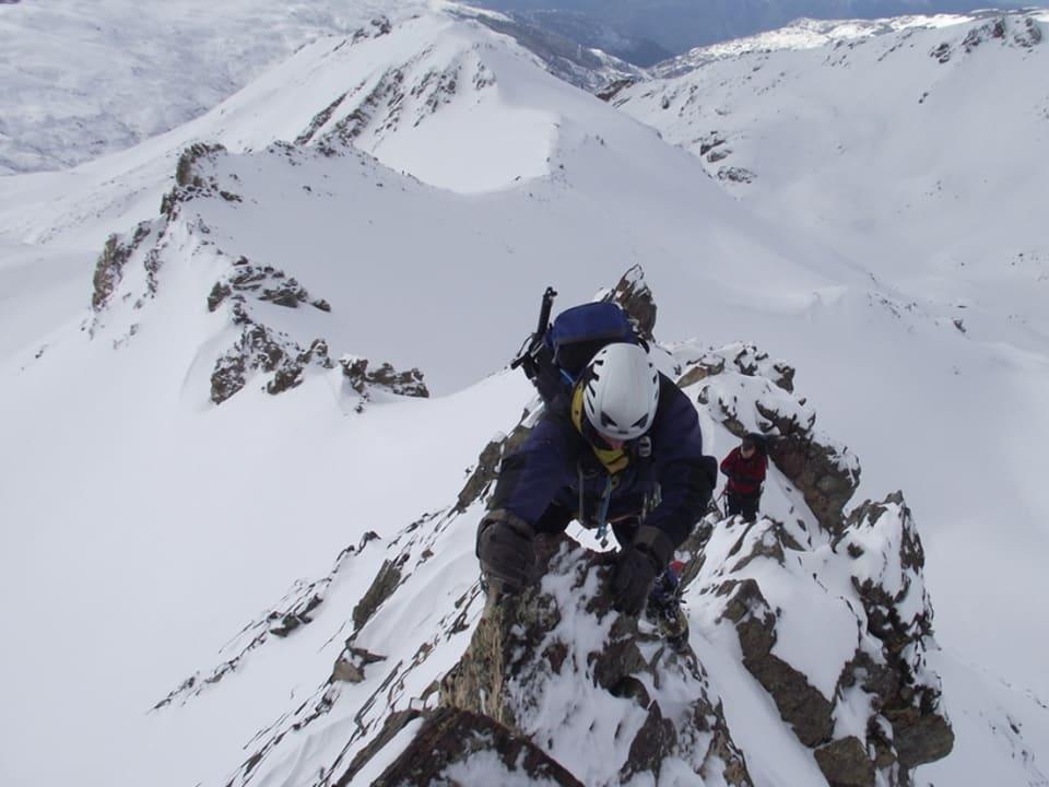 Alpine Mountaineering Course Sierra Nevada