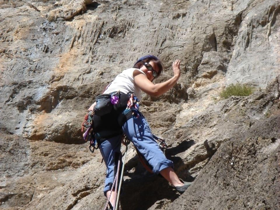 Beginner Rock Climbing Course Costa del Sol
