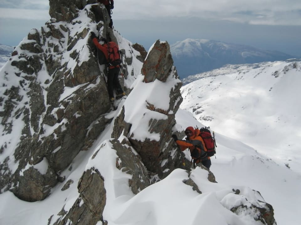 Winter Skills Mountaineering Courses in the Sierra Nevada