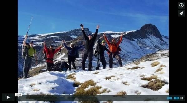 alpine ridges sierra nevada video