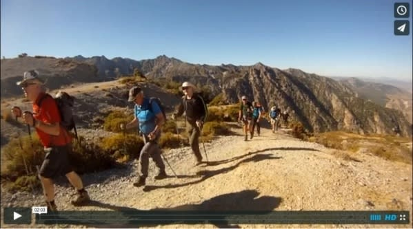 hiking granada video