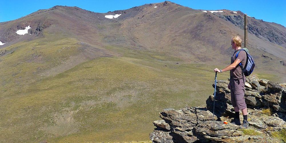 On Las Alegas looking to Tajos de los Machos
