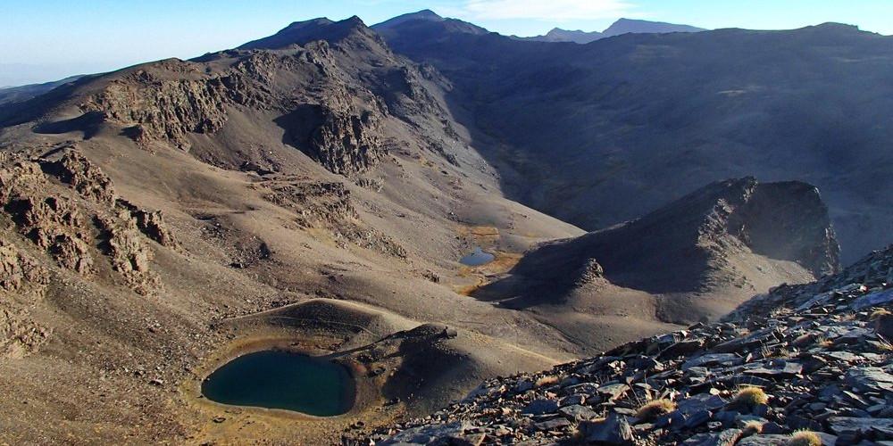 The view north from Cerro de Caballo