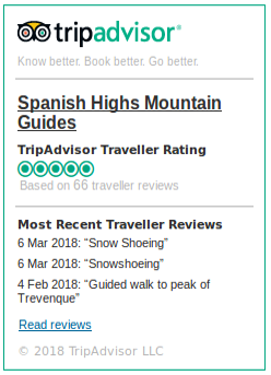 Trip Advisor Ratings