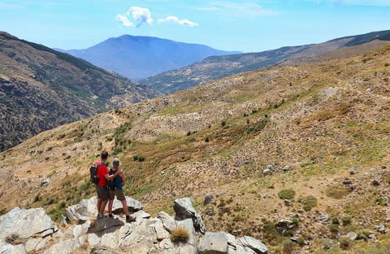 Walking the Barranco del Poqueira