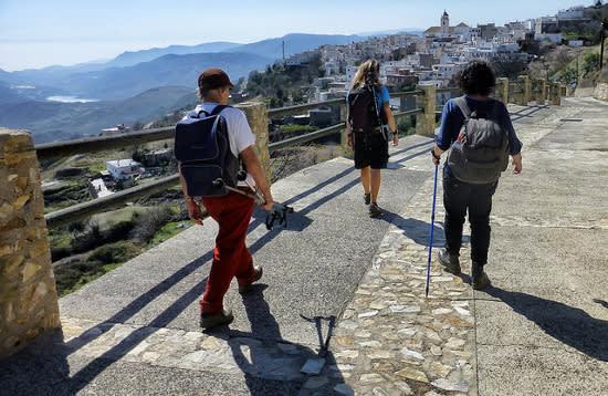 Day Walking GR7 Soportujar to Lanjarón