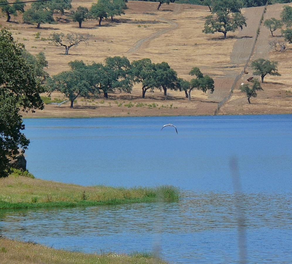 Views over the lake, Sierra Morena