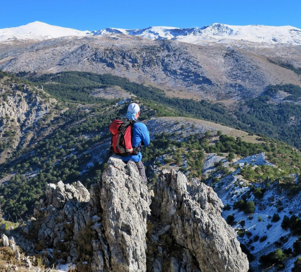 Views from the Cumbres Verdes range