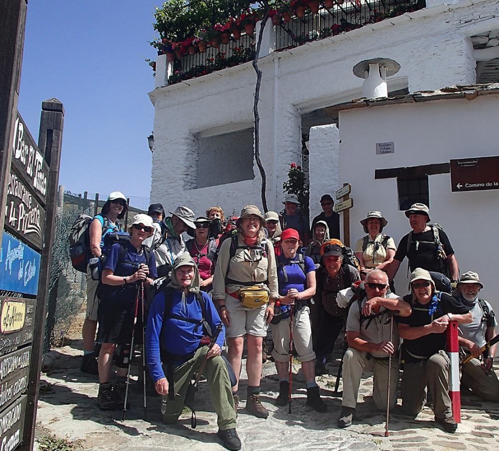 Group Walking Holidays in the Sierra Nevada
