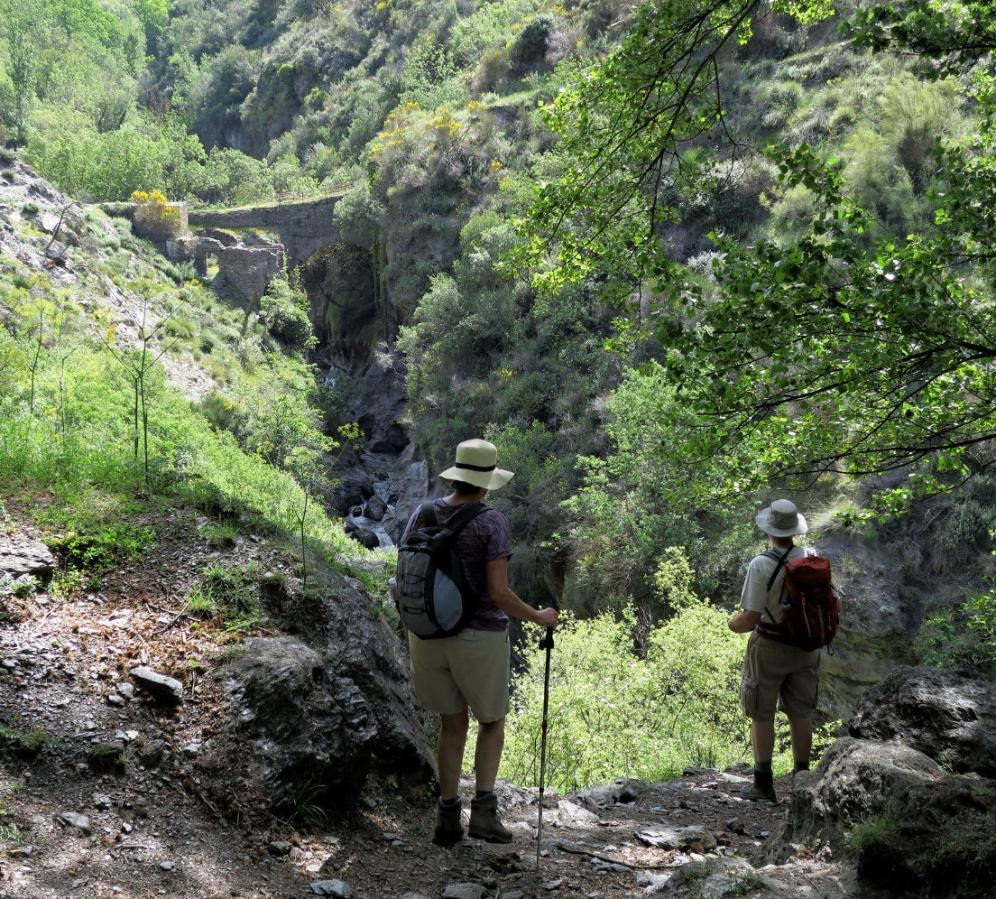 Walking the Gorges of the Alpujarras