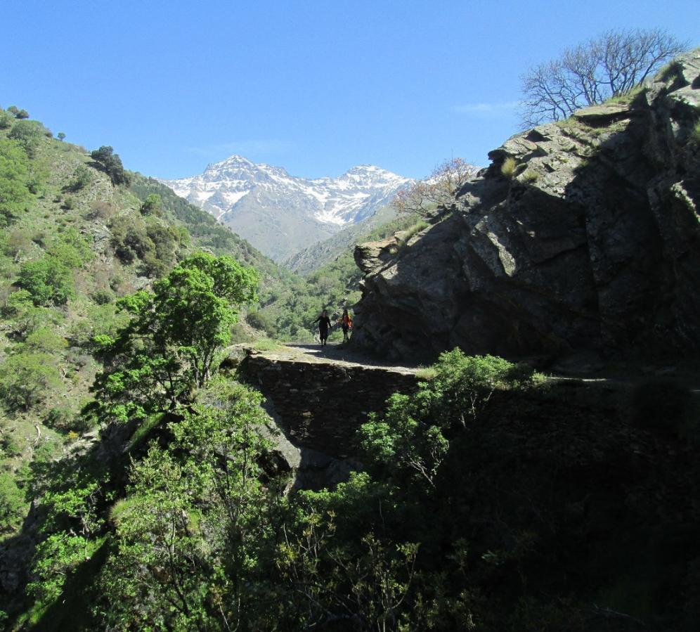 Walking the Vereda de Estrella path