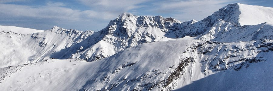 Equipment lists for the Sierra Nevada mountains