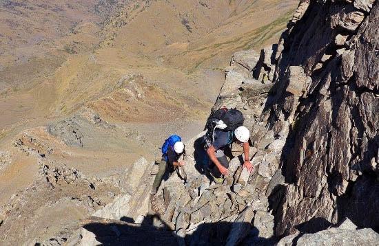 Scrambling in the Sierra Nevada