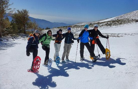 Snow Shoeing Spain