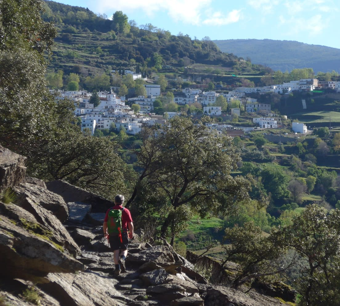 Las Alpujarras White Village Day Walking