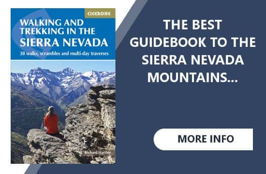 Cicerone Guide Book Sierra Nevada