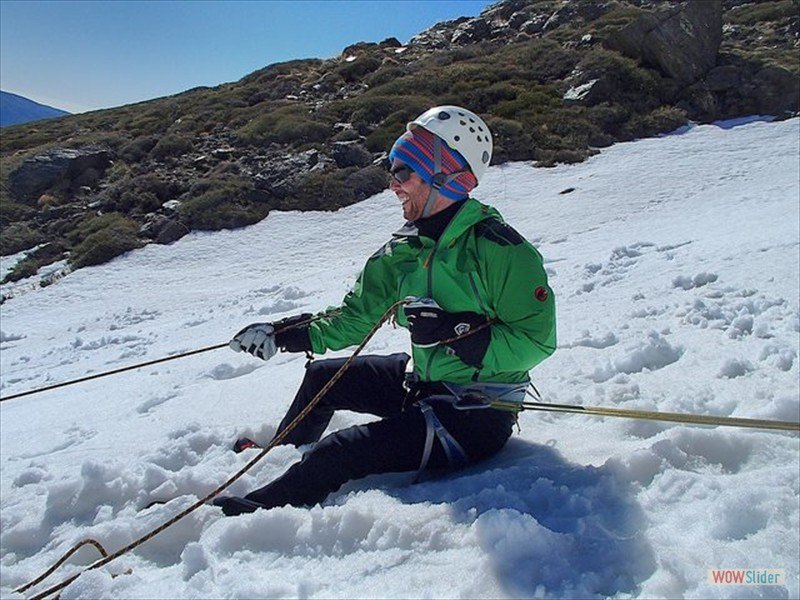 Winter Mountaineering, Sierra Nevada Slide 3