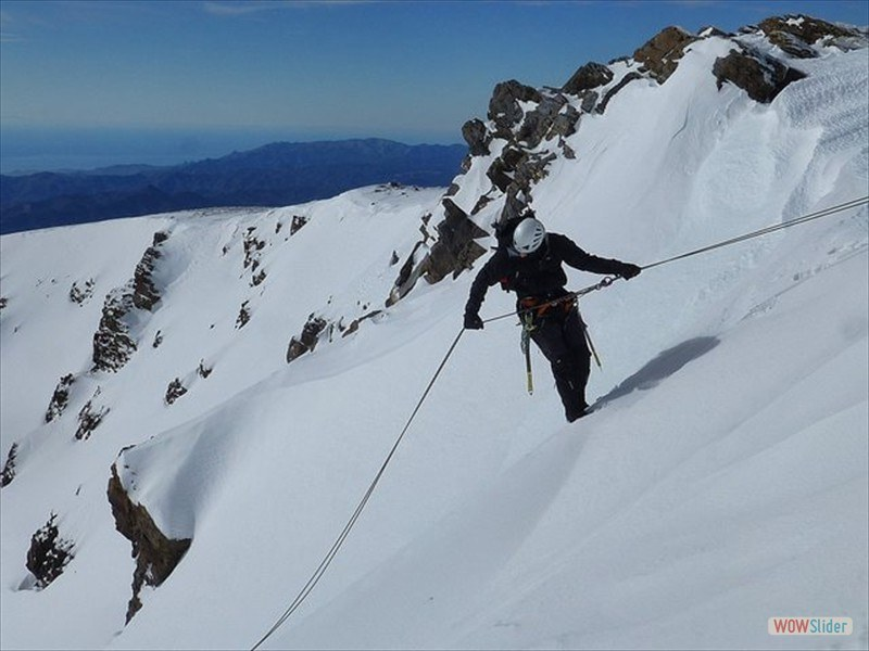 Winter Mountaineering, Sierra Nevada Slide 6